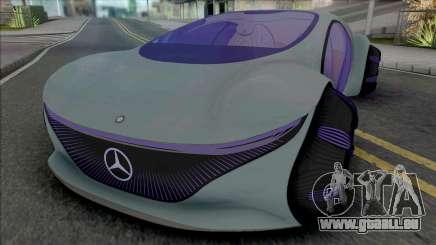 Mercedes-Benz Vision AVTR [HQ] für GTA San Andreas