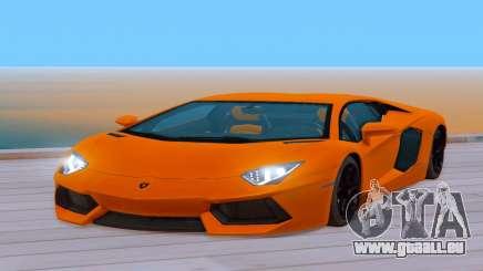 Lamborghini Aventador (Cheetah) pour GTA San Andreas