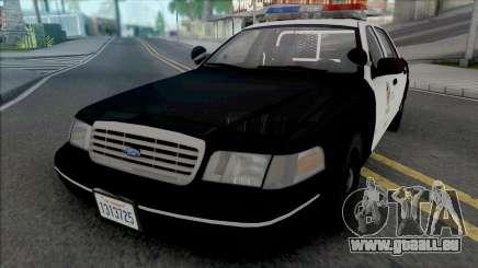 Ford Crown Victoria 1998 CVPI LAPD pour GTA San Andreas