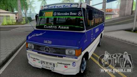 Mercedes-Benz LO-814 Cuatro Ases Leyenda für GTA San Andreas