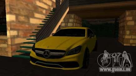 Mercedes-Benz CLS63 AMG White pour GTA San Andreas