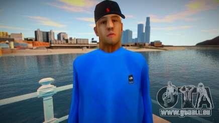 Omyst dans des vêtements mignons pour GTA San Andreas