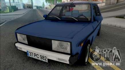 Tofas Murat 131 (CMS 40 Rims) pour GTA San Andreas