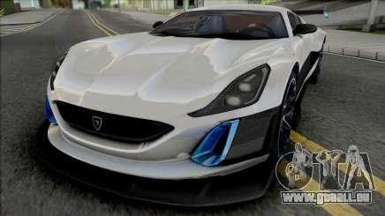 Rimac Concept S für GTA San Andreas