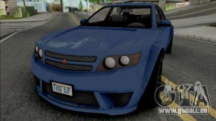 Cheval Fugitive [SA Plate] für GTA San Andreas