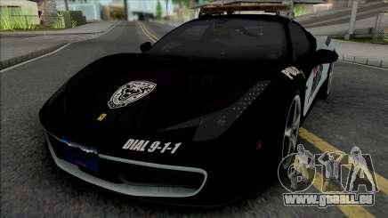 Ferrari 458 Italia Police pour GTA San Andreas