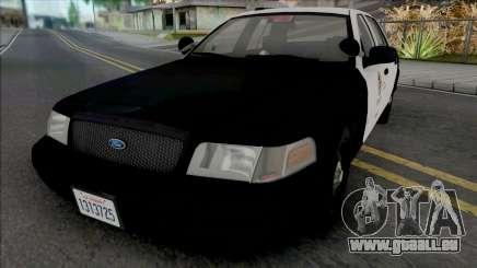 Ford Crown Victoria 2011 CVPI LAPD GND pour GTA San Andreas