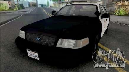 Ford Crown Victoria 2000 CVPI LAPD GND für GTA San Andreas