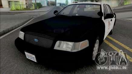 Ford Crown Victoria 2007 CVPI LAPD GND v3 pour GTA San Andreas