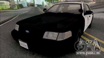 Ford Crown Victoria 1999 CVPI LAPD GND pour GTA San Andreas