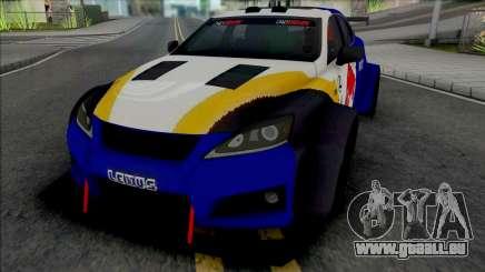 Lexus IS F 2009 [HQ] für GTA San Andreas