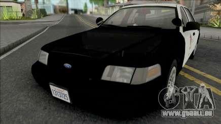 Ford Crown Victoria 1999 CVPI LAPD GND v2 pour GTA San Andreas