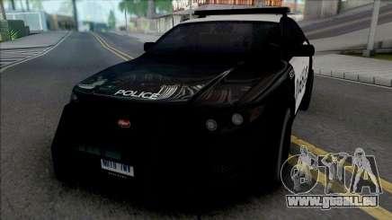 Vapid Torrence Police Las Vanturas v2 für GTA San Andreas