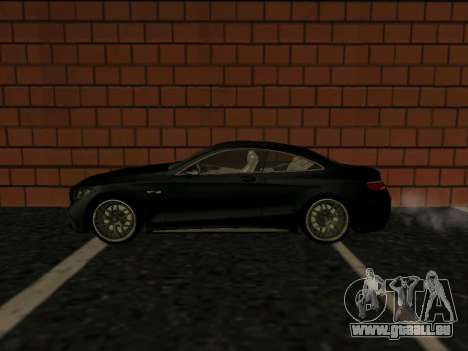 Mercedes-Benz S63 AMG (W222) coupe pour GTA San Andreas