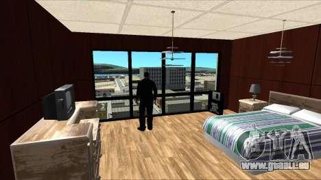 Chambre d'hôtel Pilgrim pour GTA San Andreas