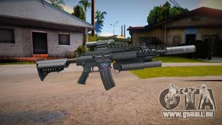 SR-25 Marck Delta pour GTA San Andreas