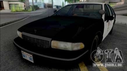 Chevrolet Caprice 1993 LAPD GND pour GTA San Andreas