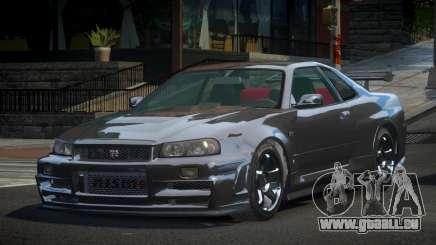 Nissan Skyline R34 G-Tuning für GTA 4