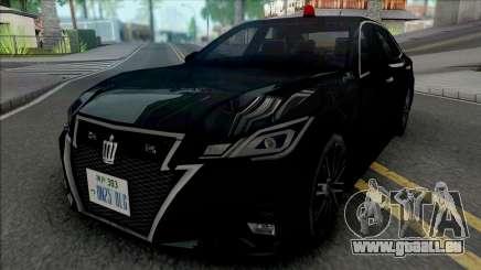Toyota Crown Athlete 2016 Unmarked Patrol Car pour GTA San Andreas