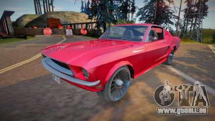 Ford Mustang Fastback 1968 (good model) für GTA San Andreas