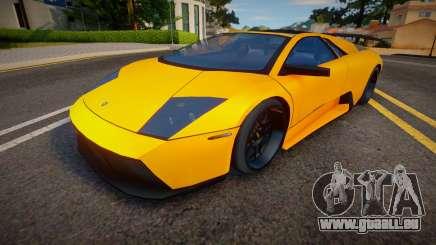 2008 Lamborghini Murcielago SV Roadster (Spoiler für GTA San Andreas