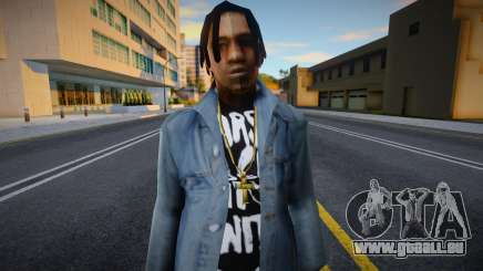 FAM2 skin in Jeans pour GTA San Andreas