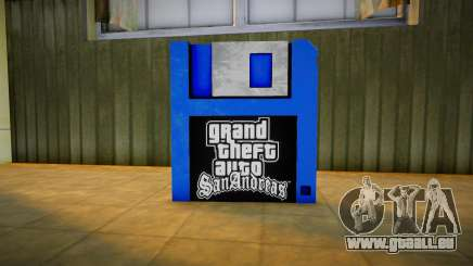 Remastered Save Pickup für GTA San Andreas