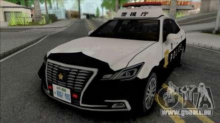 Toyota Crown Royal Saloon 2016 Patrol Car für GTA San Andreas