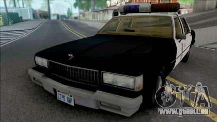 Chevrolet Caprice 1989 LAPD pour GTA San Andreas