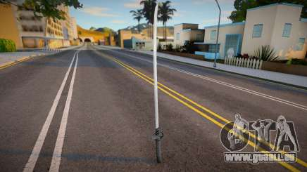 New Katana (good model) pour GTA San Andreas