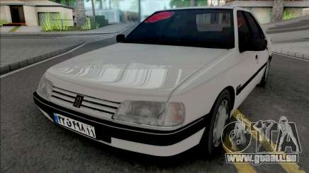 Peugeot 405 GLX (Open Trunk) für GTA San Andreas