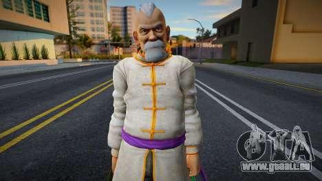 Dead Or Alive 5 - Gen Fu (Costume 1) 2 pour GTA San Andreas