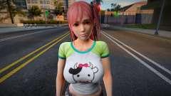 Dead Or Alive 5: Last Round - Honoka v3 pour GTA San Andreas