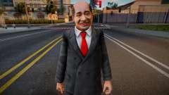 Dead Or Alive 5 - Train Man 4 pour GTA San Andreas