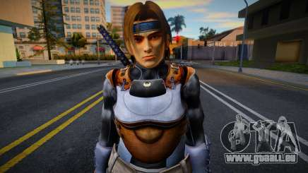 Dead Or Alive 5 - Hayate (Costume 1) für GTA San Andreas