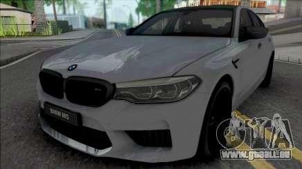 BMW M5 Competition 2019 [HQ] für GTA San Andreas