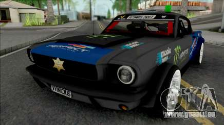 Ford Mustang Sheriff Barion für GTA San Andreas