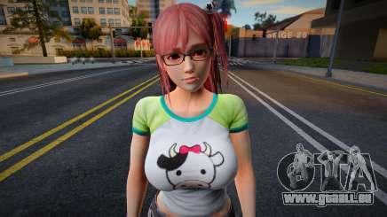 Dead Or Alive 5: Last Round - Honoka v2 für GTA San Andreas