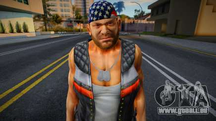 Dead Or Alive 5 - Bass Armstrong (Costume 1) 2 pour GTA San Andreas