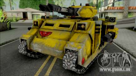Imperial Fists Predator Annihilator für GTA San Andreas