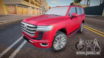 Toyota Land Cruiser 300 2021 für GTA San Andreas