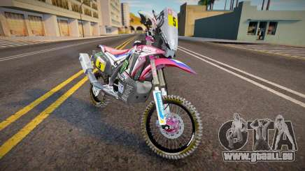 2018 Honda CRF 450R Dakar Rally pour GTA San Andreas
