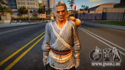 Dead Or Alive 5 - Brad Wong (Costume 1) für GTA San Andreas