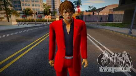 Shin Casual Tekken (Red) pour GTA San Andreas