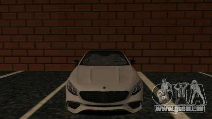Mercedes-Benz S63 AMG (W222) Final pour GTA San Andreas