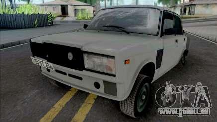 VAZ 2107 Xuliqanski 814 (Cavid168) Style pour GTA San Andreas