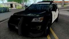 Ford Explorer 2017 LAPD