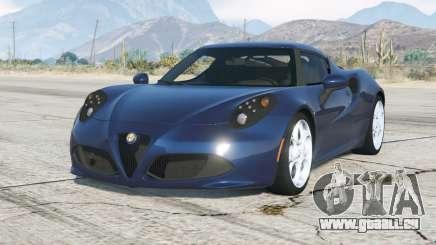 Alfa Romeo 4C (960) 2014〡ajouter pour GTA 5