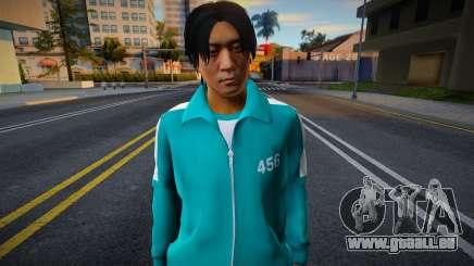Male Random Tracksuit 456 Squid Game pour GTA San Andreas