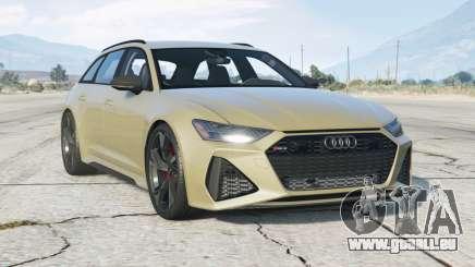 Audi RS 6 Avant (C8) 2019〡add-on v1.0 pour GTA 5